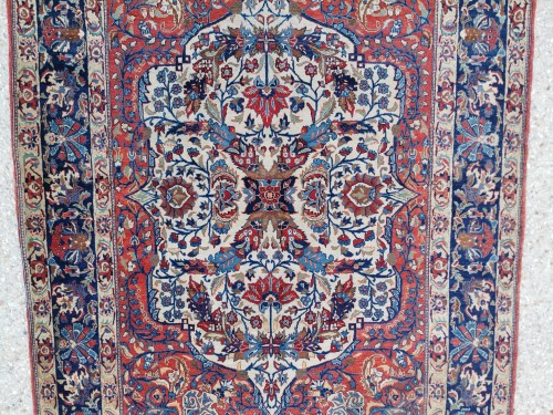 Isfahan Silky Kork Wool, Iran late 19th century - Tapestry & Carpet Style