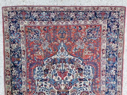 Isfahan Silky Kork Wool, Iran late 19th century -