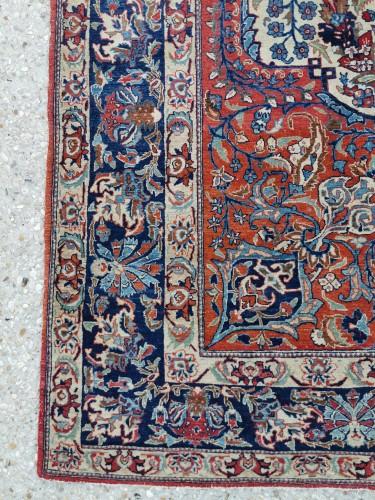 19th century - Isfahan Silky Kork Wool, Iran late 19th century