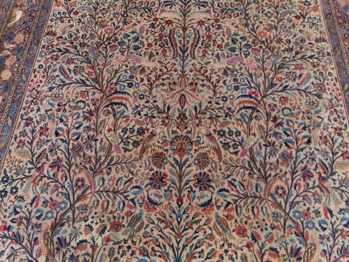 Tapestry & Carpet  - Rug Kachan Dabir Kork Wool - Iran Late 19th