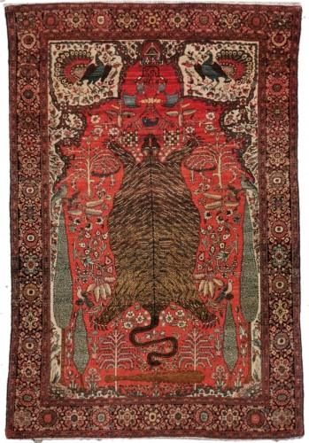 Sarouk In Kork Wool - Iran, late 19th Century