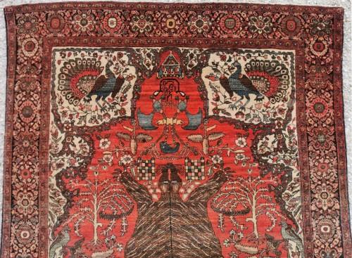Sarouk In Kork Wool - Iran, late 19th Century - Tapestry & Carpet Style