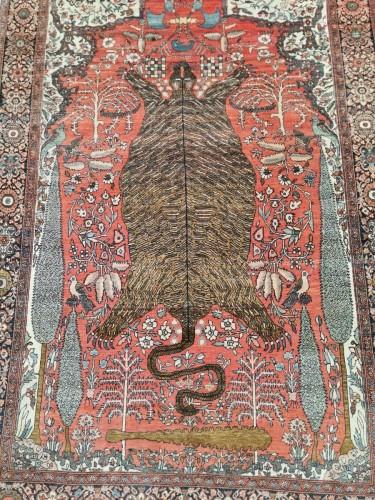 Tapestry & Carpet  - Sarouk In Kork Wool - Iran, late 19th Century