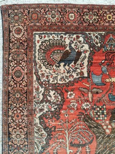 19th century - Sarouk In Kork Wool - Iran, late 19th Century