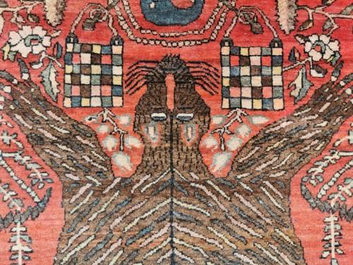 Antiquités - Sarouk In Kork Wool - Iran, late 19th Century
