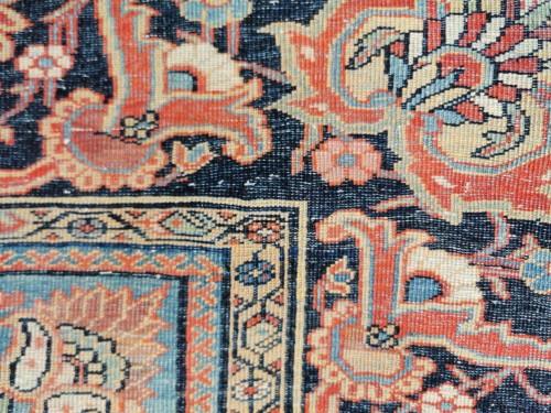 Tapestry & Carpet  - Ferahan Wool Kork Silky Rug - Iran Late 19th