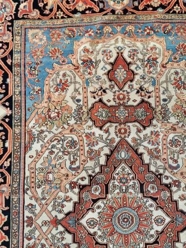 19th century - Ferahan Wool Kork Silky Rug - Iran Late 19th