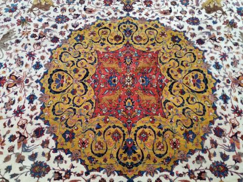 Antiquités - Important Carpet - Tabriz In Kork Wool - Iran Circa 1880