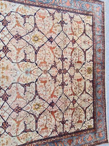 Rare Téhéran - Silk - Iran 1882 - Tapestry & Carpet Style