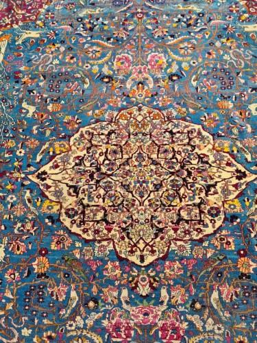 Fine Tehran In Kork Wool On Cotton Foundation - Iran Circa 1880 -
