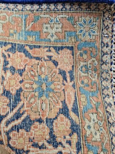 Kachan Mortachem Rug - Kork Wool - Iran 19th Century - Tapestry & Carpet Style