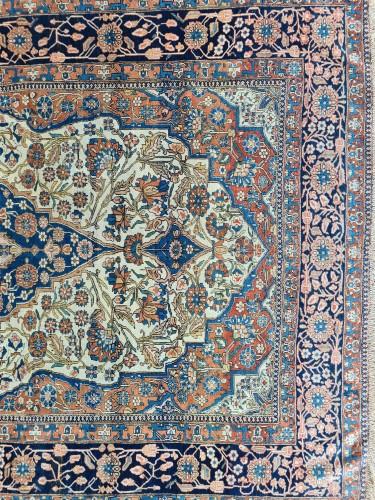 19th century - Kachan Mortachem Rug - Kork Wool - Iran 19th Century