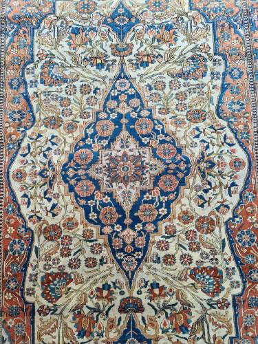 Antiquités - Kachan Mortachem Rug - Kork Wool - Iran 19th Century