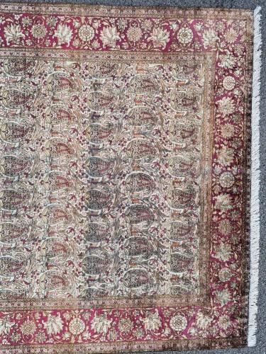 Kachan Silk Rug - Iran Circa 1880 -