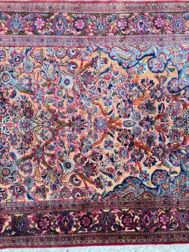 Tapestry & Carpet  - Fine Kashan Souf Silk - Iran 19th