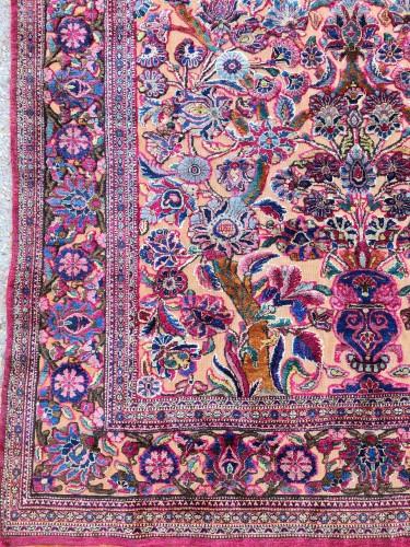 19th century - Fine Kashan Souf Silk - Iran 19th