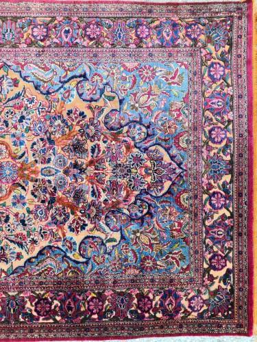 - Fine Kashan Souf Silk - Iran 19th