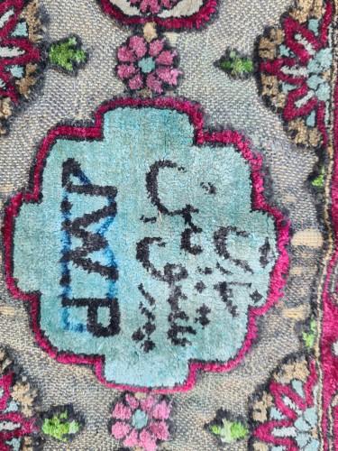- A late 19th century Kachan Soof Persian in Silk