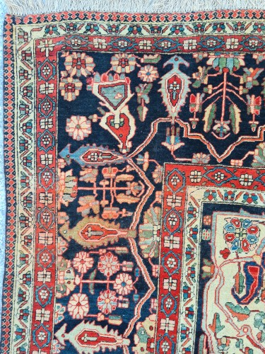 Antiquités - Kashan Mortachem Carpet - Iran 19th century