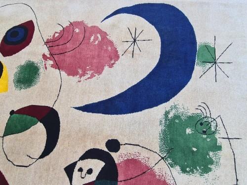 Tapestry & Carpet  - Handmade Rug Joan Miro 1893-1983