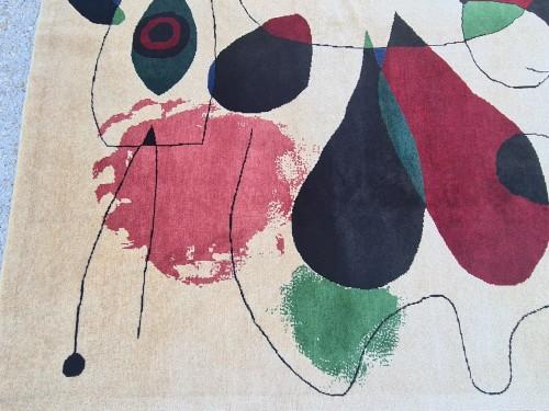 Handmade Rug Joan Miro 1893-1983 -