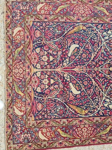 Kirman Rug Laver Kork Wool Iran Circa 1870 - Tapestry & Carpet Style