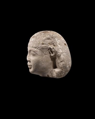 Ancient Art  - Head of a Pharaoh or a Sphinx