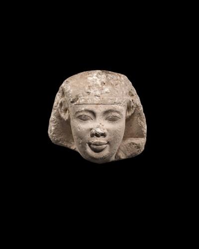 Head of a Pharaoh or a Sphinx -