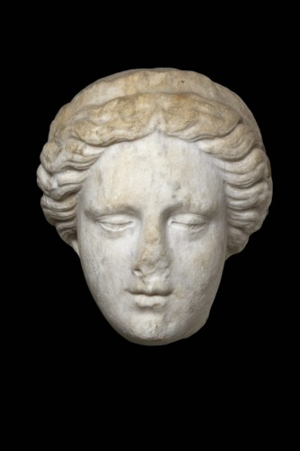 Head of a Goddess wearing a diadem, probably Hera -