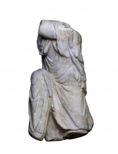 Marble torso of a Captive, Roman