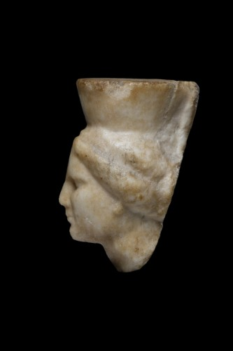 Head of Tyche - Ancient Art Style