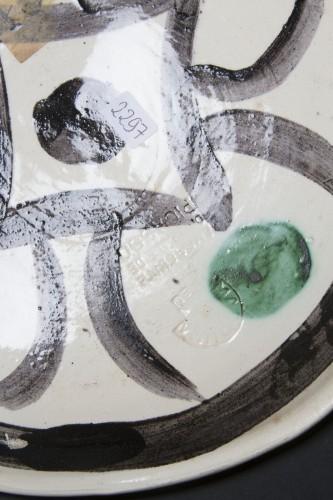 Porcelain & Faience  - Quatre Profils Enlacés - Pablo Picasso (1881 - 1973)