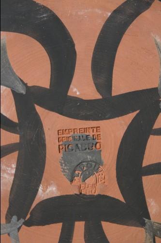 Porcelain & Faience  - Four Entwined Profiles - Pablo Picasso (1881-1973)