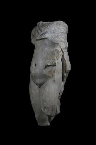 Marble torso of a man, Roman - Ancient Art Style