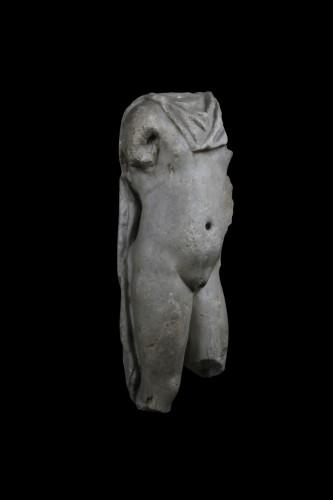 Ancient Art  - Marble torso of a man, Roman