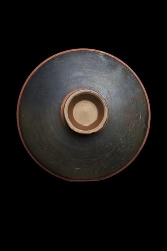 Apulian Woman's Head Plate, Greek - Ancient Art Style