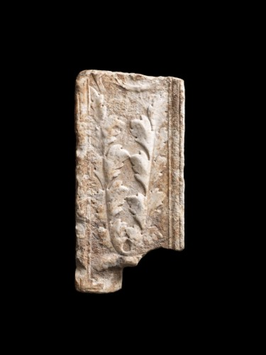 - Marble fragment of a Pilaster, Roman