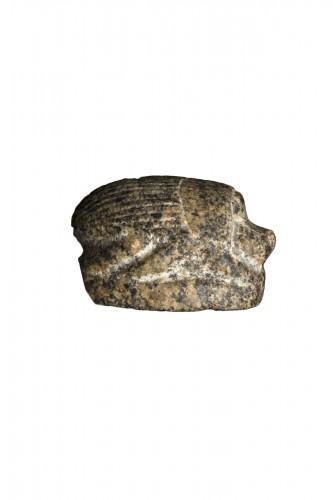 Granodiorite scarab, Egyptian