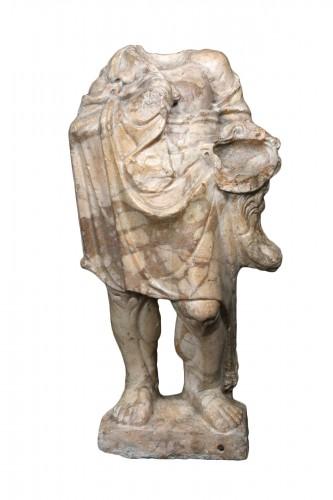 Herakles in Giallo Antico marble, Roman