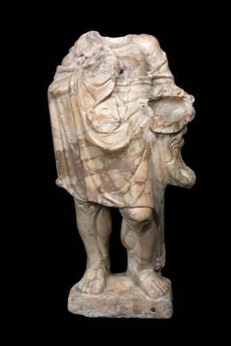 Herakles in Giallo Antico marble, Roman -