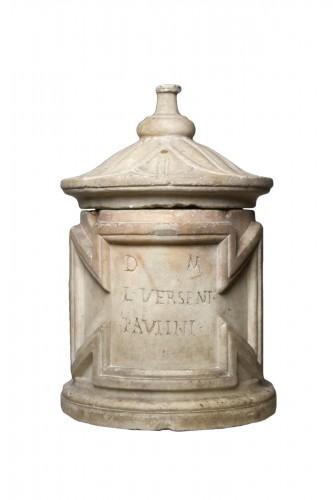 Marble Cinerary Urn, Roman