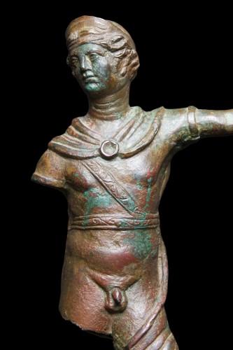 BC to 10th century - Bronze Statuette of a Warrior, Roman