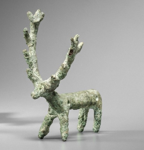 Ancient Art & Antiquities  - Statuette of a Cervid