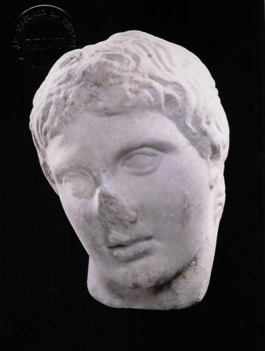 Head of a Young Man - Ancient Art Style