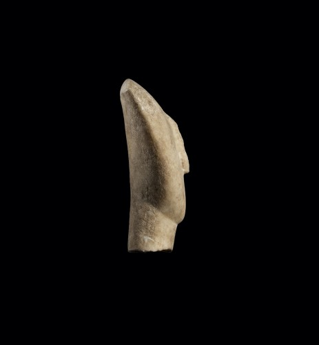 Head of a Cycladic Idol - Ancient Art Style