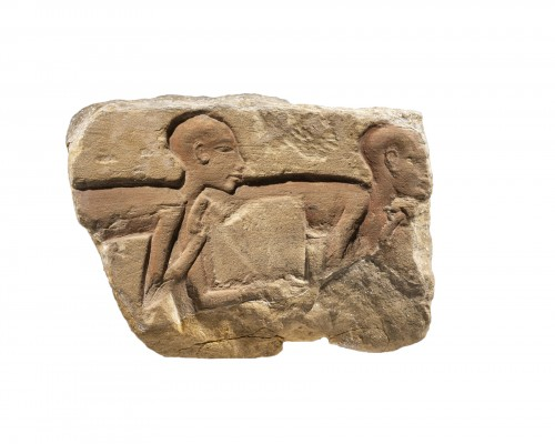 Fragment of an Amarnian relief
