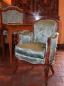 Louis xv child bergere armchair