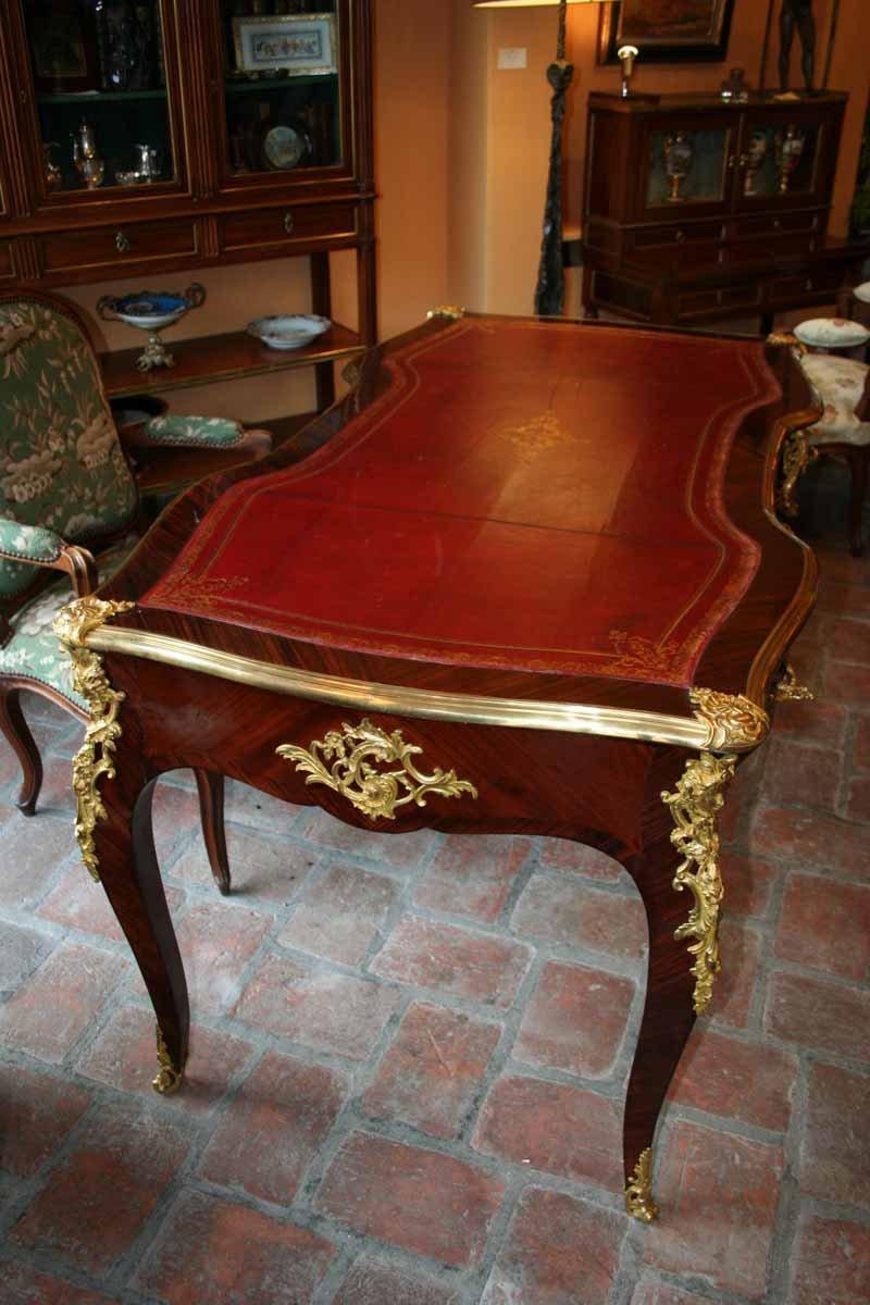 Bureau plat fin xixe for Mobilier bureau 63