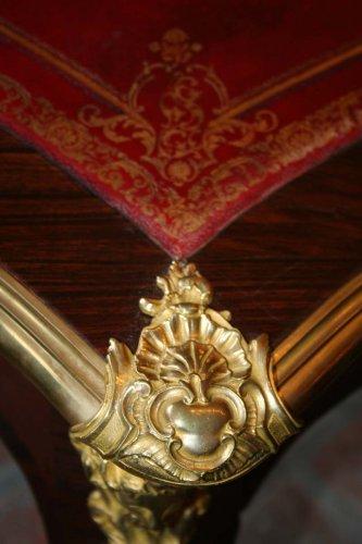 Napoléon III - Late 19th cntury bureau plat