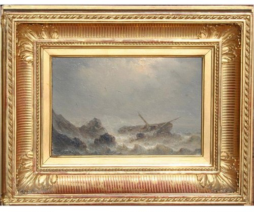 Sinking - Henriette Herminie GUDIN (1825-1876)
